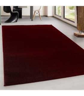 Modern Desenli Halı Kırmızı Renkli