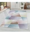 Modern Halı yumuşak Abstrak Geometrik desenli karışık renk tonlarında